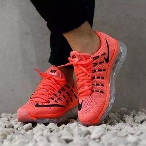 Nike Air Max 2016 Bright Crimson Women's Size 8